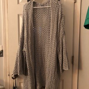 [Aerie] Loose Knit Oversized Cardigan